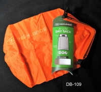 HIGHLANDER Drysack Pouch, Orange, 4 Liter